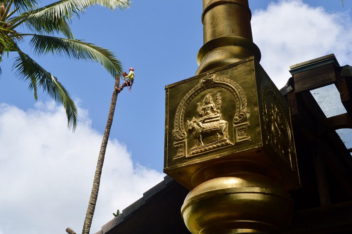 Hindu Monastery Kaua'i.