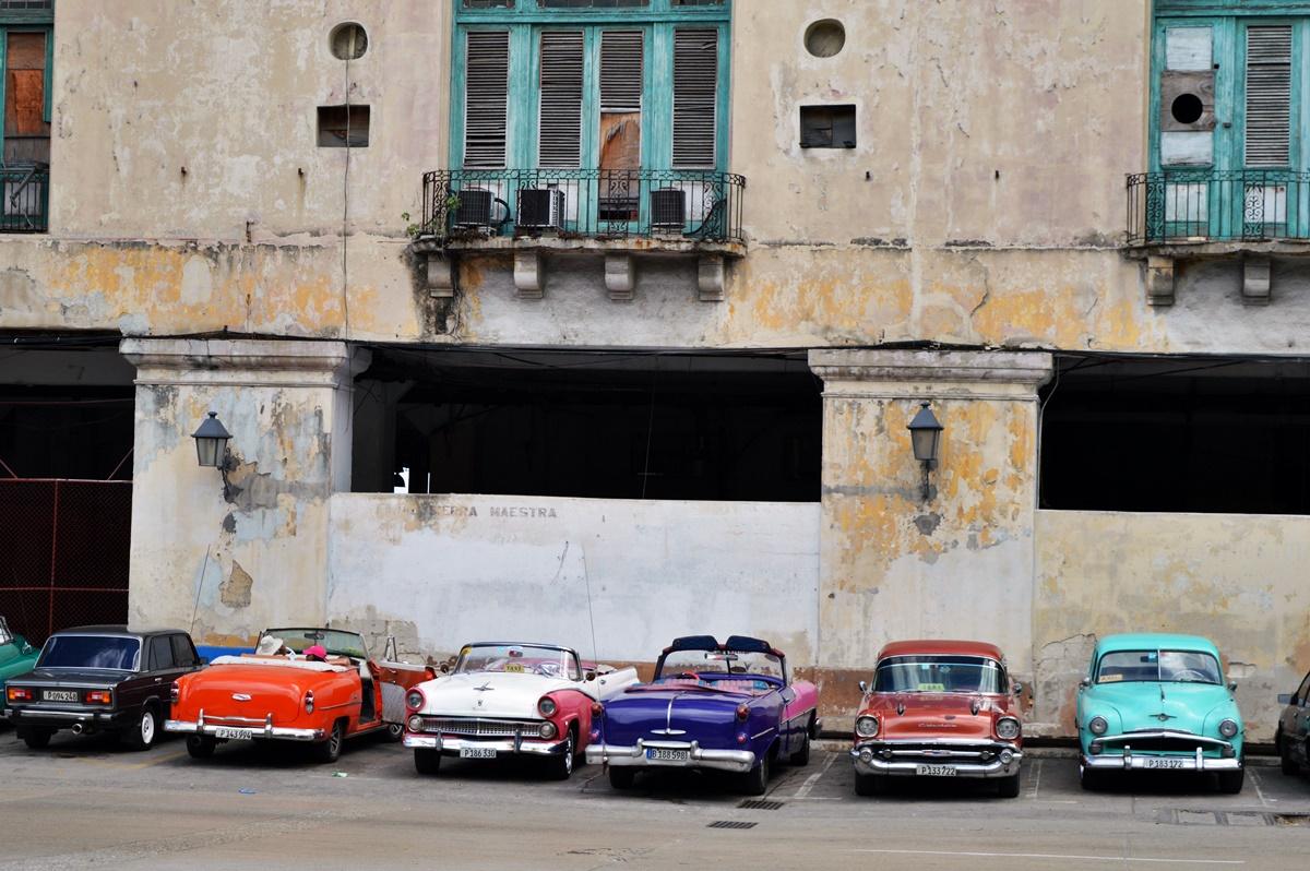 Vintage cars in Havana.